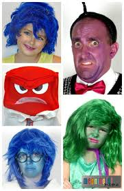 inside out costumes inside out family costumes