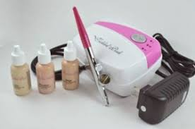 professional airbrush makeup machine airbrush makeup review tickled pink airbrush makeup the big
