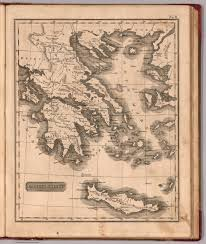 Blank Map Of Ancient Greece Ancient Greece David Rumsey Historical Map Collection