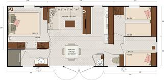 les 3 chambres mobil home evasion irm hton 3 chambres