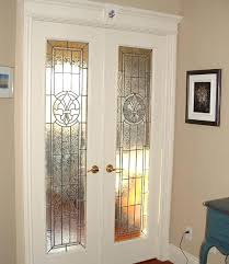 frosted glass interior doors home depot stained glass interior doors intended for 13