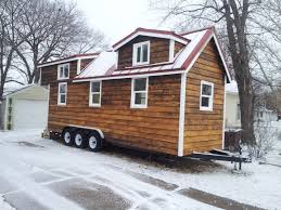 tumbleweed tiny houses shou sugi ban tiny house schmidts life on mission