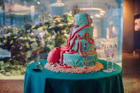 wedding cakes charleston sc south carolina aquarium wedding from richard bell photography
