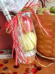 Caramel Apple Party Favors Botanic Bleu Quick Easy Caramel Apple Gift Bag