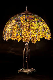 Tiffany Table Lamp Shades Stained Glass Table Lamp Laburnum Tiffany Stained Glass