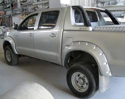toyota hilux big flares pocket style trimco mouldings