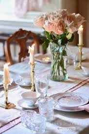 Romantic Table Settings Setting And Styling A Beautiful Birthday Tablescape For Mom