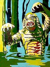 creature from the black lagoon paint by number paint by number