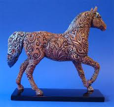 trail of painted ponies carved in history 1st edition