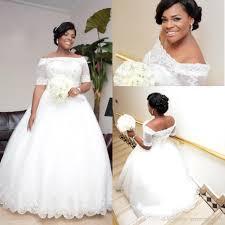 bling plus size wedding dresses