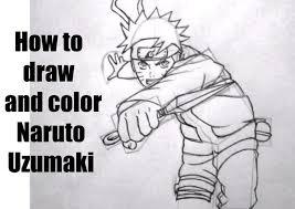 draw color naruto shippuden 2000 special