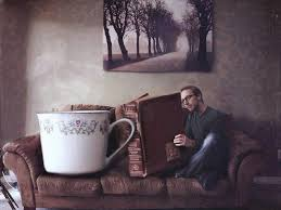cup of tea u0026 book wallpapers cup of tea u0026 book stock photos
