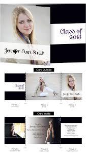 tri fold graduation announcements designs lovely tri fold graduation announcements 2016 with card