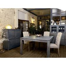 chambre style ethnique lit design deux places mobilier ethnique tara grisée