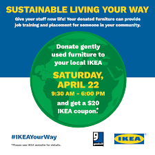 Donate Used Furniture by Ikea Us And Goodwill Industries International Partner Together To