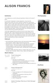 travel consultant images Travel consultant resume samples visualcv resume samples database png