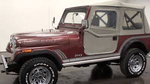 cj jeep wrangler 1985 jeep wrangler cj 7 laredo survivor youtube