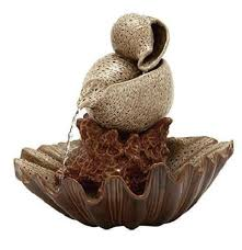 table top water fall indoor water fountain outdoor tabletop waterfall ceramic decorative