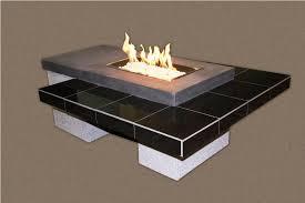 Custom Gas Fire Pits - custom fire pit tables ideas