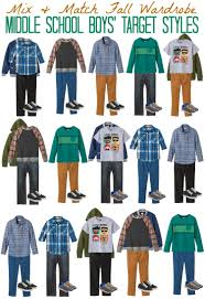 mix u0026 match fashion board middle boy u0027s styles from target