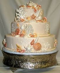 Seashell Centerpieces For Weddings by 15 Best Wedding Cakes Images On Pinterest Beach Cakes Seashell