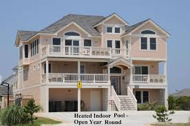 Residential Indoor Pool 716 Ferrari I U2022 Outer Banks Vacation Rental In Nags Head