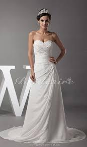 a linie schulterfrei hof schleppe chiffon brautkleid mit spitze gespaltete front p914 bridesire chiffon brautkleider chiffon 2017