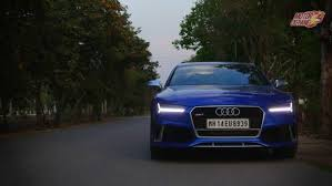 audi rs7 front audi rs7 sportback review business standard