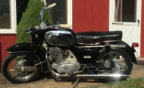 soucy garage 1965 honda dream touring 305