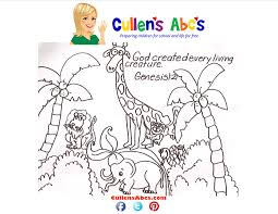 bible key point coloring page the story of creation online