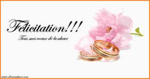 carte mariage exceptional carte de felicitations de mariage 14 un adorable