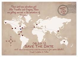 save the date cards wedding save the date cards world map destination save the date at