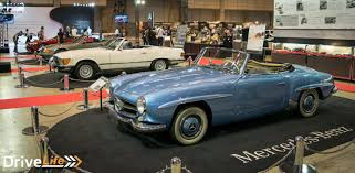 mercedes classic 2016 2016 automobile council a show where classic meets modern