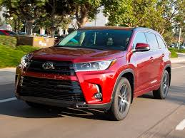 toyota highlander sales 12 best family cars 2017 toyota highlander kelley blue book