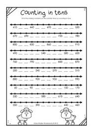 to 1000 in skip counting in ones fives tens and hundreds worksheets