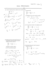 differential equations math100 revision exercises resources