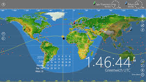 Global Time Zones Map by World Astro Clock Light For Windows 8 Download
