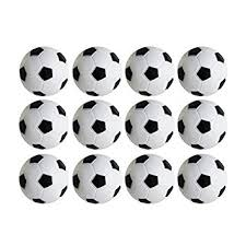 table soccer foosballs replacements mini black and