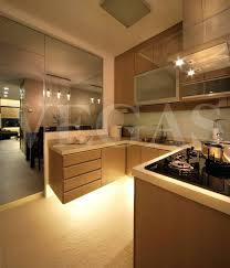 Interior Design Ideas 1 Room Kitchen Flat Hdb Flat At Towner Road Floating Kitchen