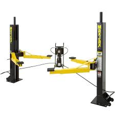 Low Ceiling 2 Post Lift by Dannmar Maxjax 2 Post Portable Lift Dmj 6 The Home Depot