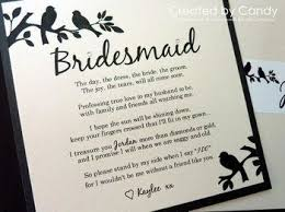 bridesmaid card wording bridesmaid gift poems bridesmaids poems and quotes ivelfm