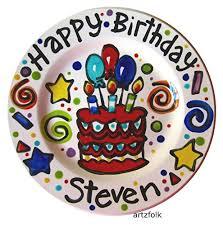 personalized cake plate 7 handmade custom ceramic personalized happy birthday