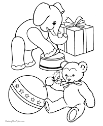 christmas coloring sheets toys