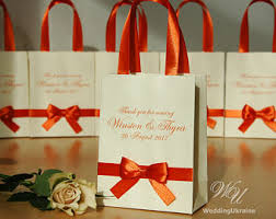 wedding gift bags for guests guest of honor gift etsy