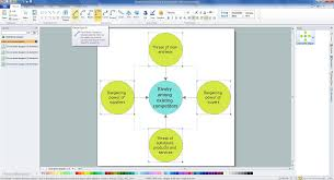 basic circle spoke diagrams solution conceptdraw com