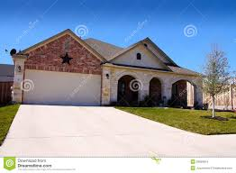 texas house new construction star stock images image 29856824