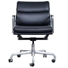 eames style task chair modernist eames style leather desk chair at