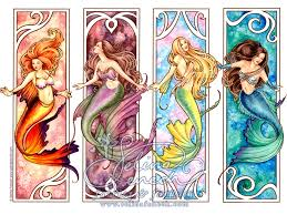 mermaids by selina fenech colour with claire