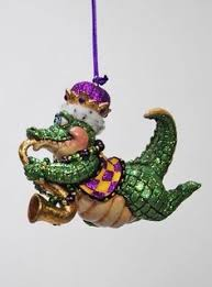 katherine s collection mardi gras gator ornaments tuesday 28