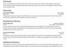 inspiring example of resume surprising resume cv cover letter